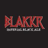 Blakkr Imperial Black Ale beer