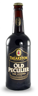 Theakston Old Peculier Ale beer Label Full Size