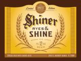 Shiner Ryes & Shine beer