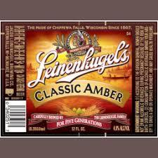 Leinenkugels Classic Amber beer Label Full Size