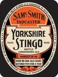 Samuel Smith's Yorkshire Stingo 2013 beer Label Full Size