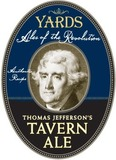 Yards Thomas Jefferson Tavern Ale Beer