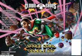 Clown Shoes Space Cake beer Label Full Size