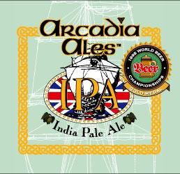 Arcadia IPA beer Label Full Size