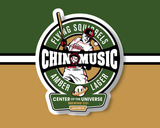 Center of the Universe Chin Music beer