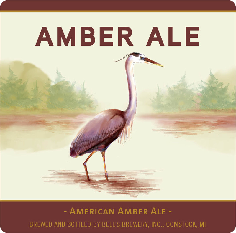 Bell's Amber Ale beer Label Full Size