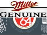Miller Genuine 64 beer