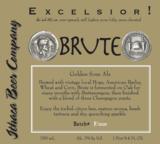 Ithaca Brute beer
