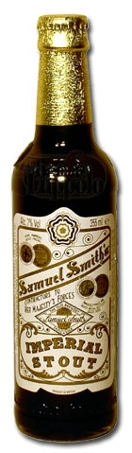 Samuel Smith's Imperial Stout beer Label Full Size