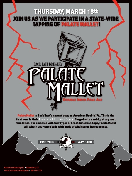 Back East Palate Mallet Beer