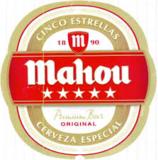 Mahou Cinco Estrellas Beer