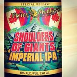 Flying Monkeys Shoulders Of Giants Imperial IPA beer