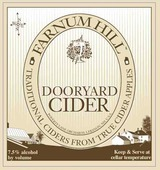 Farnum Hill Dooryard Cider 1120 beer Label Full Size