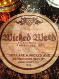 Wicked Weed French Toast Stout Beer