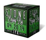 Stone Enjoy By 04.20.14 IPA beer
