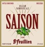 St. Feuillien Saison beer