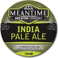 Meantime IPA beer Label Full Size