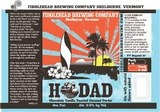 Fiddlehead Hodad Coconut Porter beer