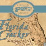 Cigar Florida Cracker White beer Label Full Size