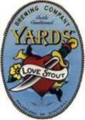Yards Chocolate Coffee Love Stout beer Label Full Size