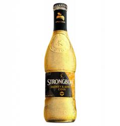Strongbow Honey & Apple Hard Cider beer Label Full Size