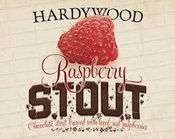Hardywood Park Raspberry Stout beer Label Full Size