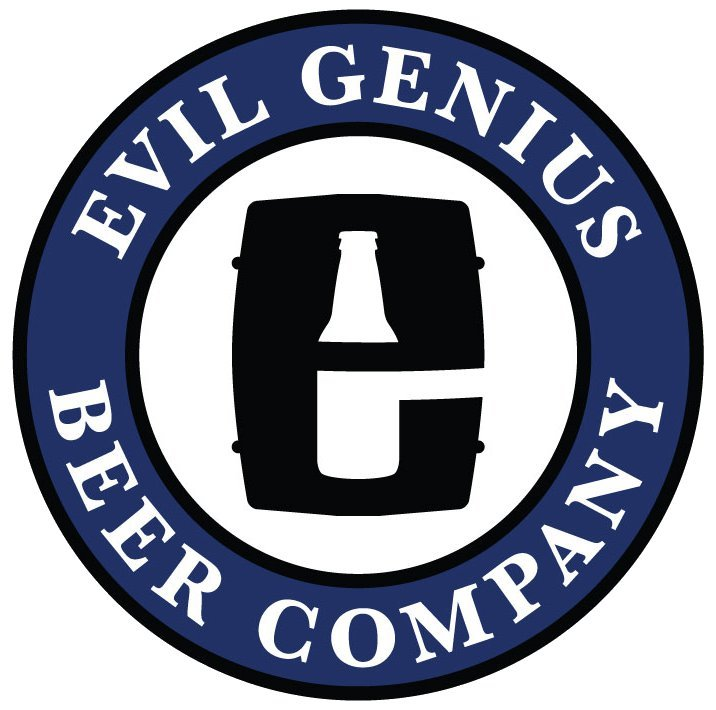 Evil Genius Purple Monkey Dishwasher beer Label Full Size
