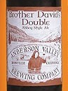 Anderson Valley Brother David's Double beer