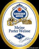 Schneider Tap X Porter Wiesse beer