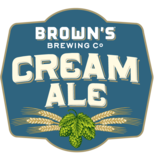 Brown's Cream Ale beer