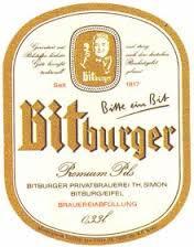Bitburger Pilsner Beer