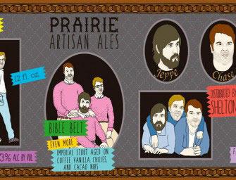Prairie Artisan/Evil Twin Bible Belt beer Label Full Size