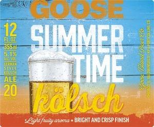 Goose Island Summertime beer Label Full Size