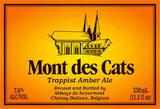 Mont Des Cats Trappist Amber Ale beer