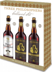 Ommegang Three Philosophers Cellared Set beer Label Full Size