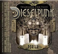 Diesel Punk Porter beer Label Full Size