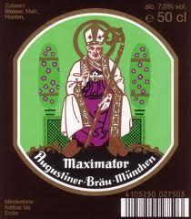 Augustiner Maximator beer Label Full Size