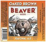 Beaver Oaked Brown Ale beer
