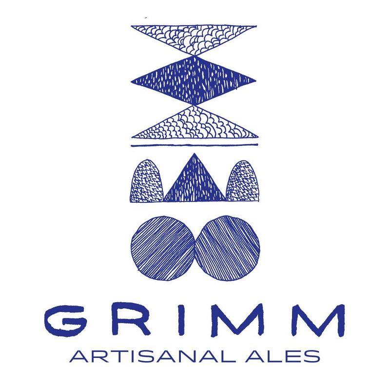 Grimm Artisanal with Love from Grimm Tripel beer Label Full Size