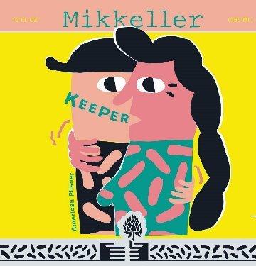 Mikkeller / Sly Fox Keeper Pils beer Label Full Size