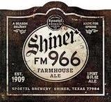 Spoetzl Shiner Bock FM 966 Beer