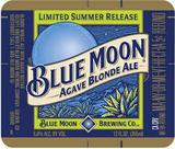 Blue Moon Agave Blonde Ale beer