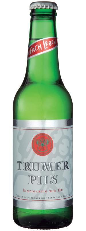 Trumer Pils beer Label Full Size