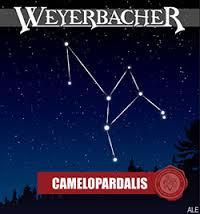 Weyerbacher Camelopardalis beer Label Full Size