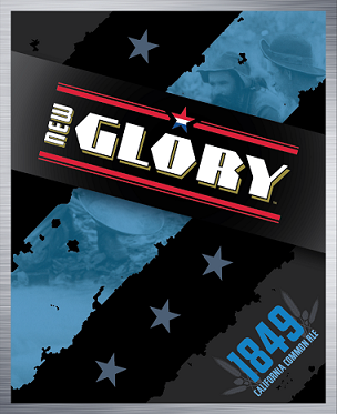 New Glory 1849 beer Label Full Size