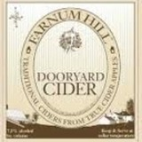Farnum Hill Dooryard Cider 1402 beer Label Full Size