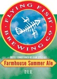 Flying Fish Farmhouse Summer Ale Beer