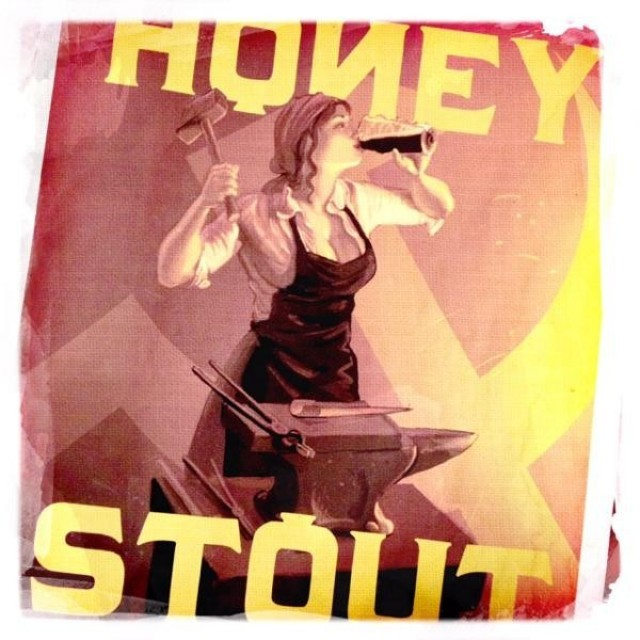 Red Branch Honey Stout beer Label Full Size