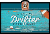 Widmer Brothers Drifter Pale Ale beer