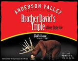 Anderson Valley Brother David's Triple Beer